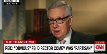 Harry Reid Blasts FBI's James Comey Over Election Interference