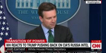 Josh Earnest: GOP Must Reconcile Their 'Patriotism' With Trump Support