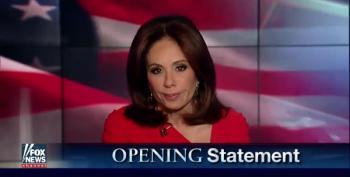 Judge Jeanine Wants Us To Treat Trump Like Fox Treated 2009 Obama?