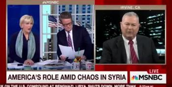 Dana Rohrabacher's Morning Joe Interview Turns Crazy