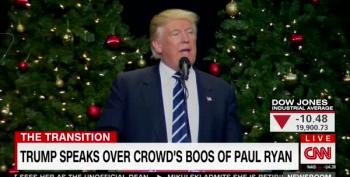 Trump Tosses Veiled Threat At Paul Ryan During Wisconsin Rally