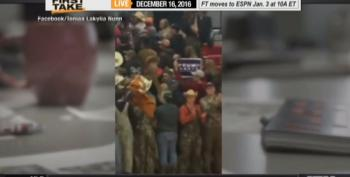Trump Sign Waved At All Minority HS Basketball Team, Warrensburg Apologizes