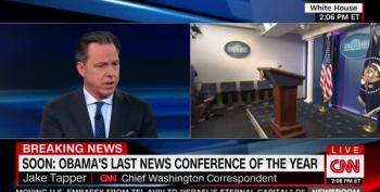 CNN's Jake Tapper Denies Media Was Obsessed With Clinton's Emails