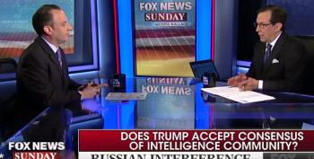 Reince Priebus And Chris Wallace Clash Over Whether Trump Believes Intel Community On Russian Hacks
