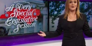 Sam Bee On NC Power Grab: 'This Is A Preview Of The King Trump Times!'