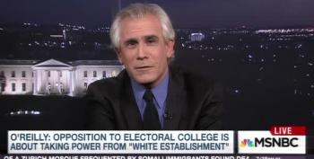 David Corn Calls Out Bill O'Reilly's Racist Electoral College Rant