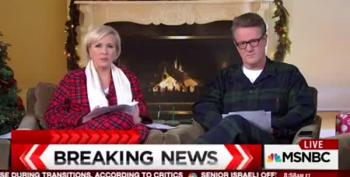 Morning Joe (in Pajamas) Normalizes Trump's Arms Race Talk