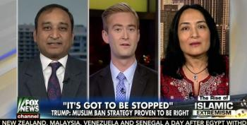 Trump-Supporting Muslim Expects No Interruptions While Lying About Muslim Ban