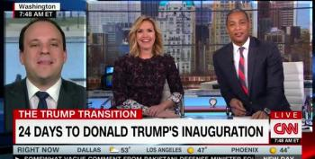 CNN Host Corners Trump Advisor On Lack Of Celebrities For Inauguration