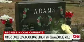 It Turns Out Trump-Voting Coal Miners Need Their Obamacare Too!
