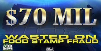 Fox News Bogus Claim: 70 Million In Food Stamp Fraud
