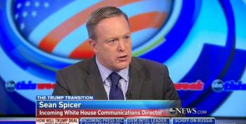 Sean Spicer: Why Aren't We Talking About 'Punishing' Hillary Clinton For Trying To Influence Election?