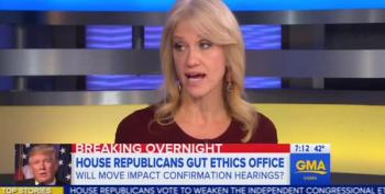 Kellyanne Conway Cites 'GOP Mandate' For Gutting Ethics Office?