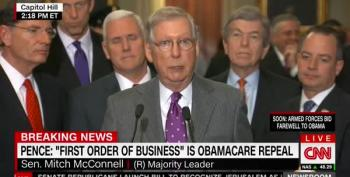 McConnell Warns Dems:  Americans 'Just Won't Tolerate' SCOTUS Block
