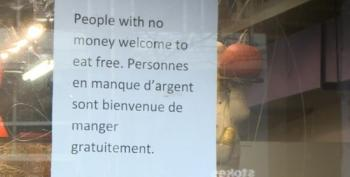 Montreal Eatery Gains International Attention By Giving Away Free Food
