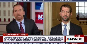 Sen. Tom Cotton Breaks With The 'Repeal And Delay' Crowd