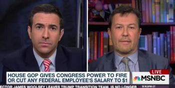 MSNBC Reports On House Rule To Target Civil Servants' Pay