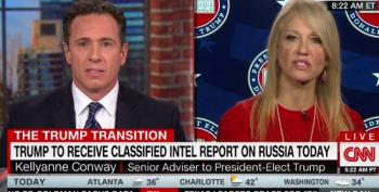 CNN Host Battles With Kellyanne Conway Over Trump's Denial Of Russian Hacks