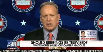 Spicer: Trump May Hold Briefings Just For 'Conservative Media'