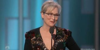 Meryl Streep Calls Out Donald Trump For His Disrespect And Bullying At Golden Globe Awards