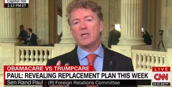 Rand Paul's ACA 'Replacement' Sounds Like Another Trump Scam