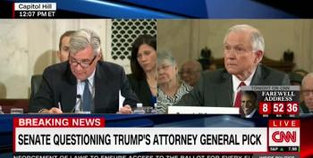 Sen. Sessions Asked If He Chanted 'Lock Her Up!' At Trump Rallies