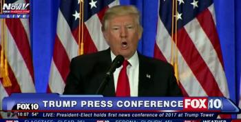 Trump Refuses To Answer CNN's Question: 'You're Fake News'