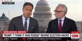 CNN's Jake Tapper: Trump Trying To 'Discredit Legitimate' News Stories About His Administration