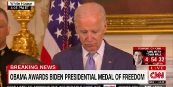 President Obama Awards VP Biden The Presidential Medal Of Freedom