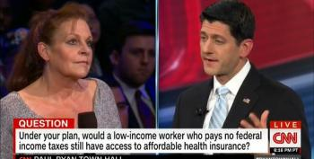 Ryan Ignores GOP Governors' Blocking Medicaid Expansion