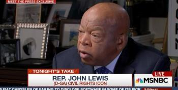 On MLK Weekend, Trump Insults Civil Rights Hero, John Lewis