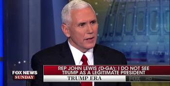 Mike Pence Defends Trump Attacking John Lewis As A Failure To Black People