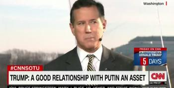 Santorum Whines About How Mean President Obama Was To Congress