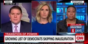 CNN Panelist Calls 'Disrespect' Of Trump Unprecedented?