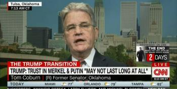 Former Sen. Tom Coburn Praises Trump For His Ability To Manipulate The Press