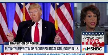 Rep. Maxine Waters: 'I Believe Trump Is A Danger'