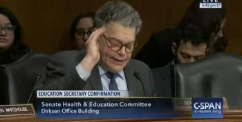 Sen. Al Franken Blasts Betsy DeVos At Confirmation Hearing