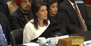 Nikki Haley Admits Not Knowing Anything About Being Ambassador To The U.N.