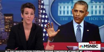 Rachel Maddow Ticks Off Obama's Accomplishments As Administration Winds Down