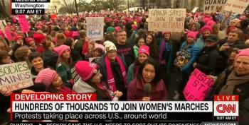 CNN Refuses To Use The Word 'Pussy' When Talking About The 'Pink Caps' At Women's March