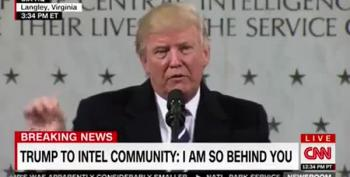 Trump Says 'I Love Honesty' To The CIA