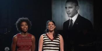 SNL Says Goodbye To President Obama By Singing 'To Sir, With Love'