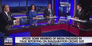 Krauthammer And Stirewalt Blast Spicer And Trump For 'Weird' Briefing Over Ratings