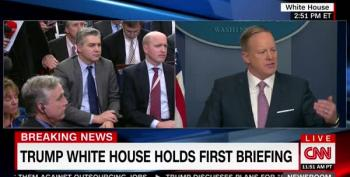 Spicer: 'Negative Coverage' Is 'Demoralizing'