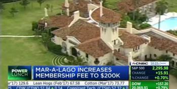 Trump Doubles Mar-A-Lago Fees