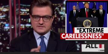 Chris Hayes: Trump's Use Of Unsecure Phone To Tweet Is 'Extremely Careless'