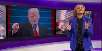 Samantha Bee Finds The Trump Inaugural Not Funny...