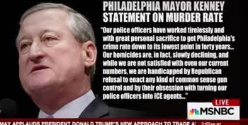 Philadelphia Mayor Slams Trump As Anti-Police