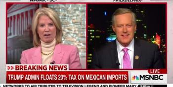 Rep. Mark Meadows Targets Medicare/Medicaid For Cuts To Build Trump's Wall