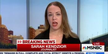 Sarah Kendzior Dissects How The Extremists Are Taking Over The White House